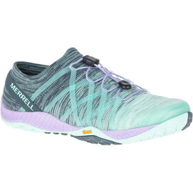 Merrell Trail Glove 4 Knit Shoes Women Aqua